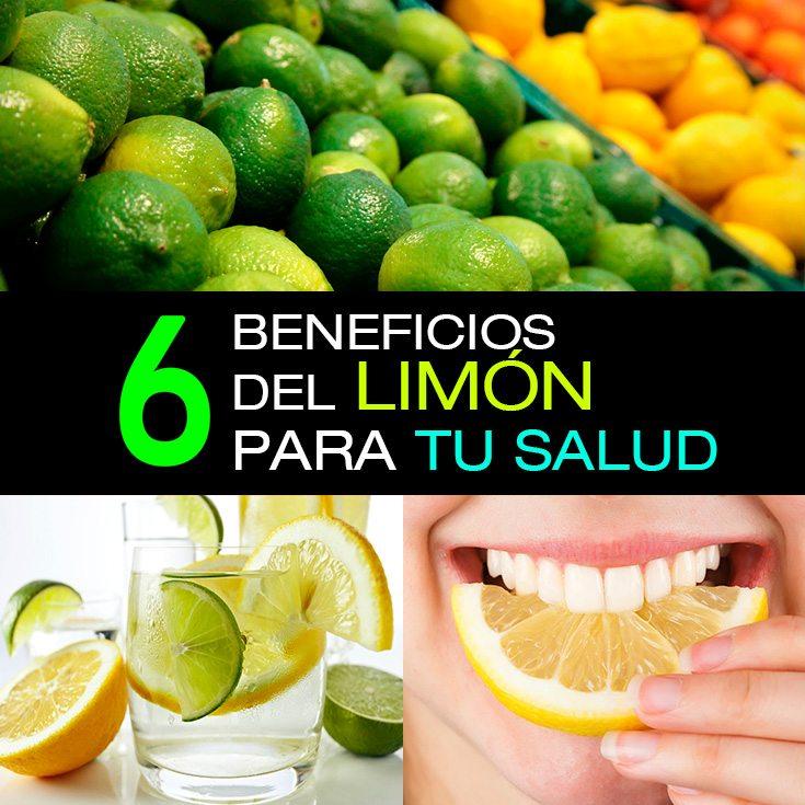 6 Beneficios Del Limón Para Tu Salud - La Guía de las