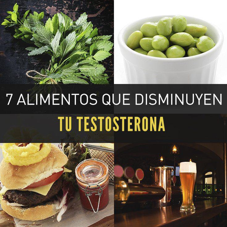 7 alimentos que disminuyen tu testosterona la gu a de las vitaminas - Alimentos con testosterona ...