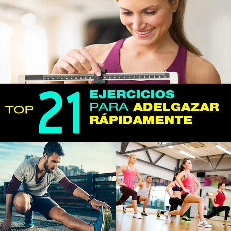 Adelgazar rapidamente ejercicios
