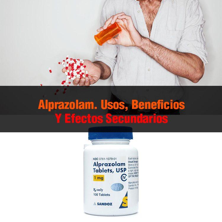 Alprazolam: para qué sirve, efectos secundarios, dosis y