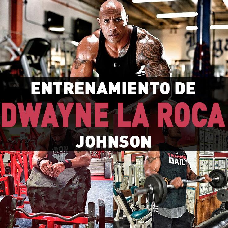 Entrenamiento de dwayne la roca johnson incluye rutina for La roca completa