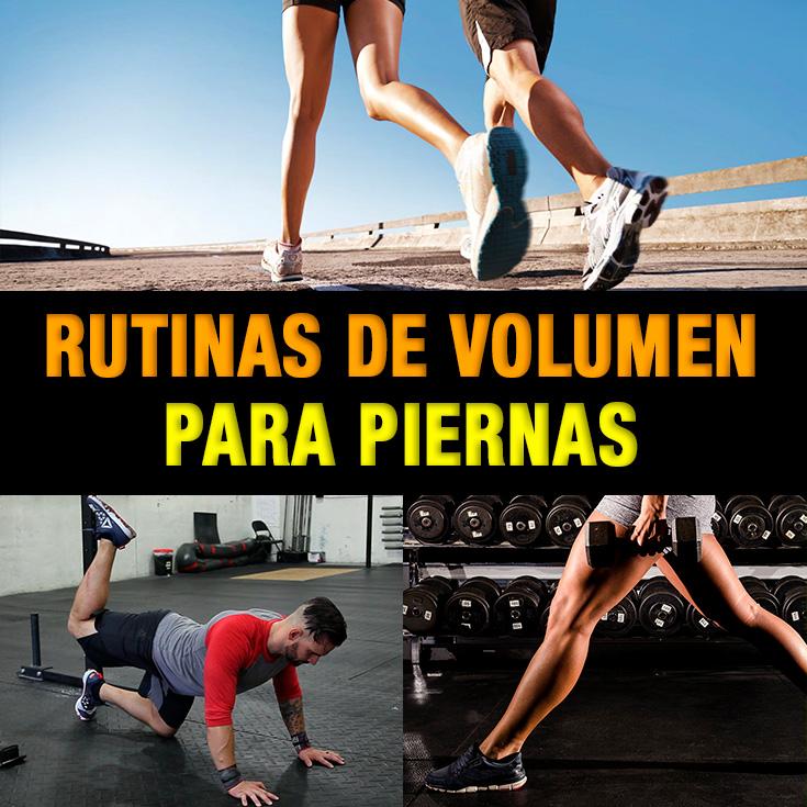 La Mejor Rutinas De Volumen Para Piernas (Crece y Tonifica) - La ...