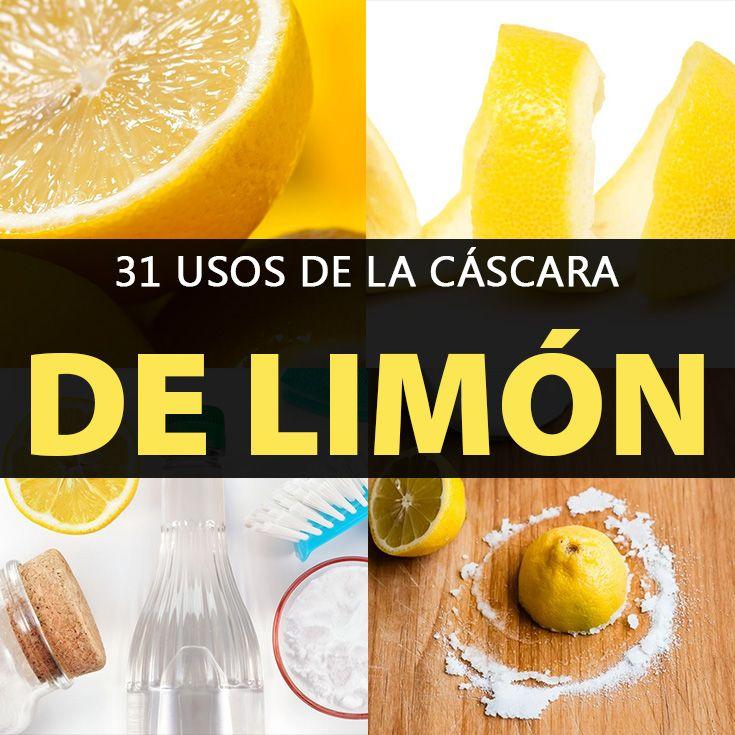 31 usos incre bles de la c scara de lim n que no conoc as - Cascara de limon ...